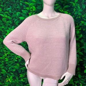 Lovely Victoria Secret knitted top LG lilac pink L